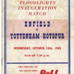 1962 Enfield v Spurs Floodlight Inauguration